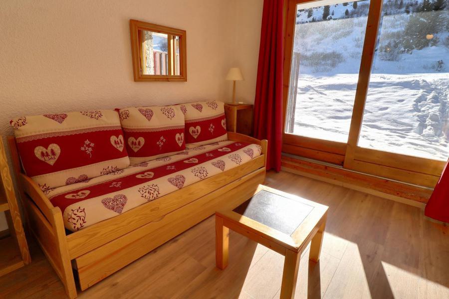 Location au ski Studio 2 personnes (C6) - Résidence Lac Blanc - Méribel-Mottaret