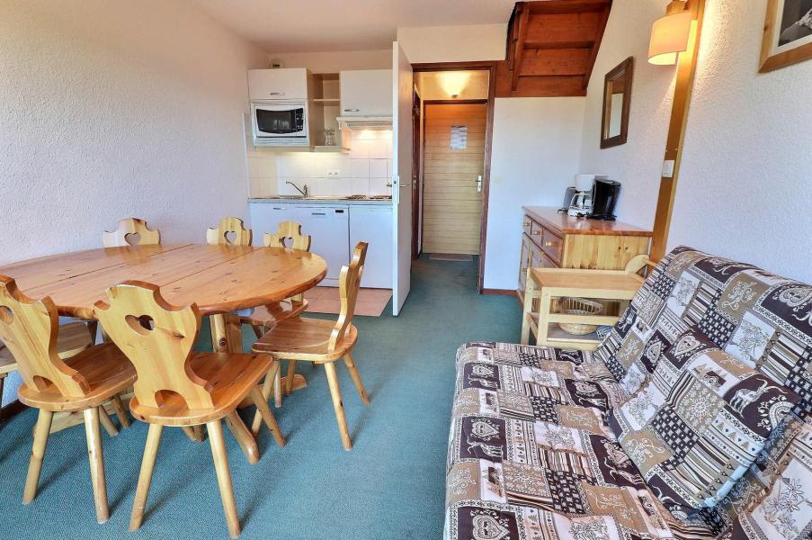 Location au ski Appartement duplex 3 pièces 6 personnes (F9) - Résidence Lac Blanc - Méribel-Mottaret - Kitchenette