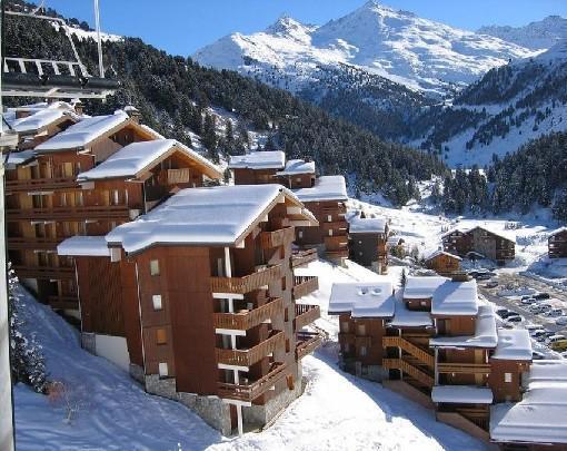Ski verhuur Appartement 3 kamers 6 personen (007) - Résidence Lama - Méribel-Mottaret - Buiten winter