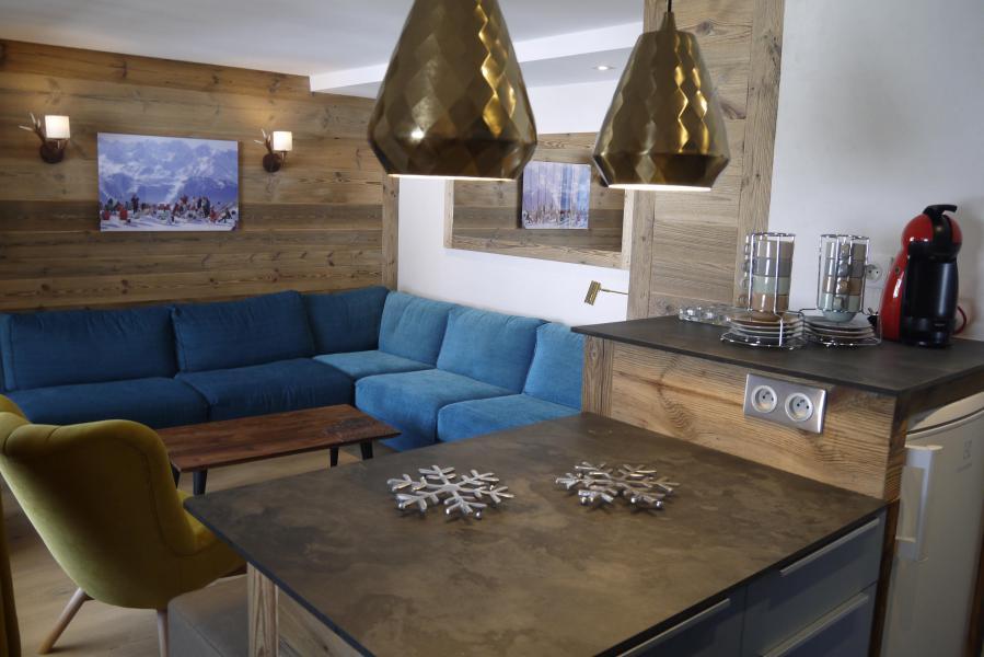 Ski verhuur Appartement 3 kamers 6 personen (007) - Résidence Lama - Méribel-Mottaret