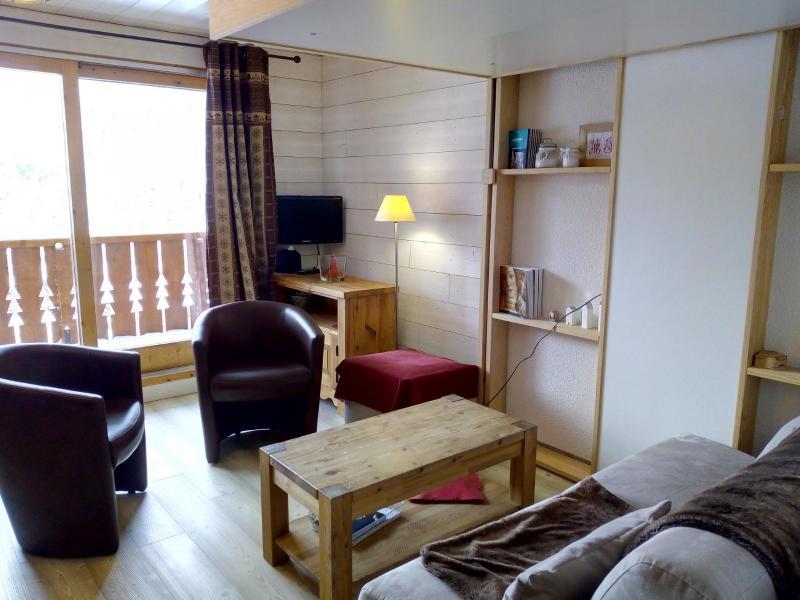 Location au ski Appartement 2 pièces 4 personnes (022) - Résidence Lama - Méribel-Mottaret - Séjour
