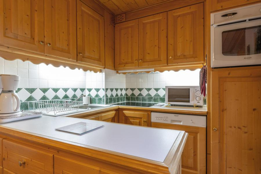 Location au ski Appartement 3 pièces 6 personnes (018) - Résidence Lama - Méribel-Mottaret - Kitchenette