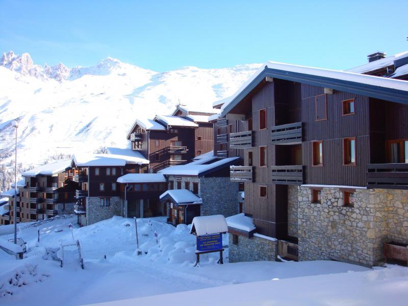 Location au ski Résidence le Boulevard - Méribel-Mottaret - Extérieur hiver
