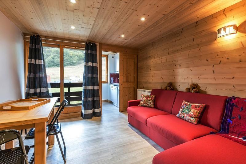 Location au ski Appartement 2 pièces 4 personnes (112) - Résidence le Creux de l'Ours D - Méribel-Mottaret