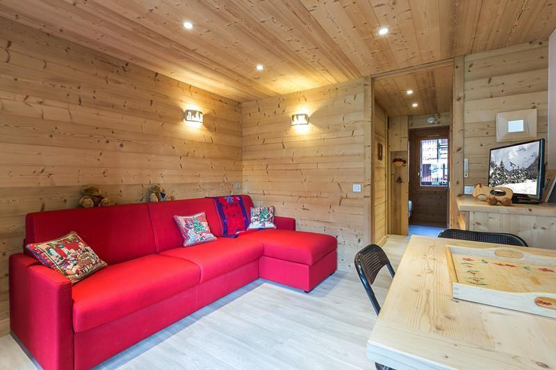 Location au ski Appartement 2 pièces 4 personnes (112) - Residence Le Creux De L'ours D - Méribel-Mottaret