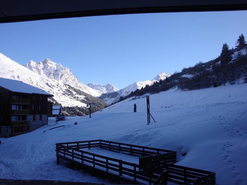 Ski verhuur Appartement 2 kamers 5 personen (067) - Résidence le Creux de l'Ours D - Méribel-Mottaret - Buiten winter
