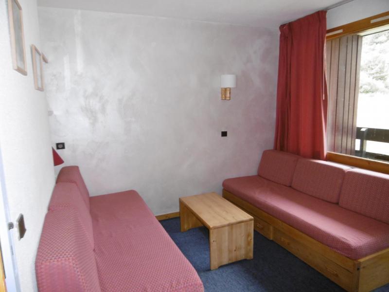Location au ski Studio 4 personnes (140) - Résidence le Creux de l'Ours D - Méribel-Mottaret - Banquette-lit