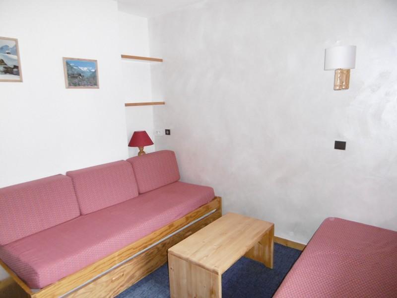 Location au ski Studio 4 personnes (140) - Residence Le Creux De L'ours D - Méribel-Mottaret - Séjour