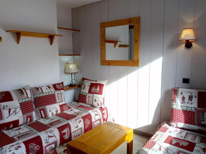 Ski verhuur Appartement 3 kamers 6 personen (042) - Résidence le Dandy - Méribel-Mottaret - Woonkamer