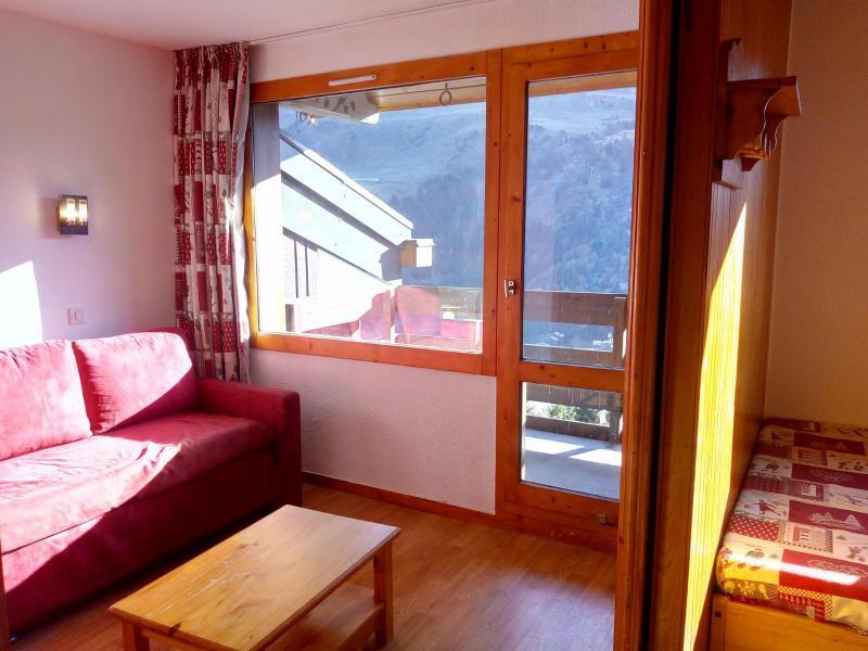 Ski verhuur Studio 4 personen (077) - Résidence le Dandy - Méribel-Mottaret - Woonkamer