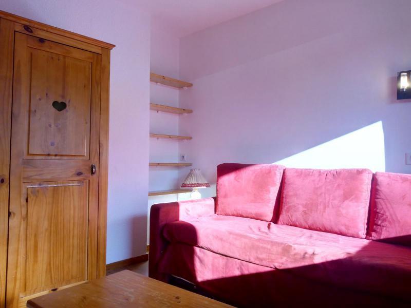 Location au ski Studio 4 personnes (077) - Résidence le Dandy - Méribel-Mottaret - Banquette