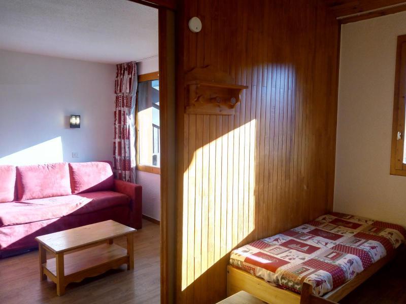 Location au ski Studio 4 personnes (077) - Résidence le Dandy - Méribel-Mottaret - Canapé-lit