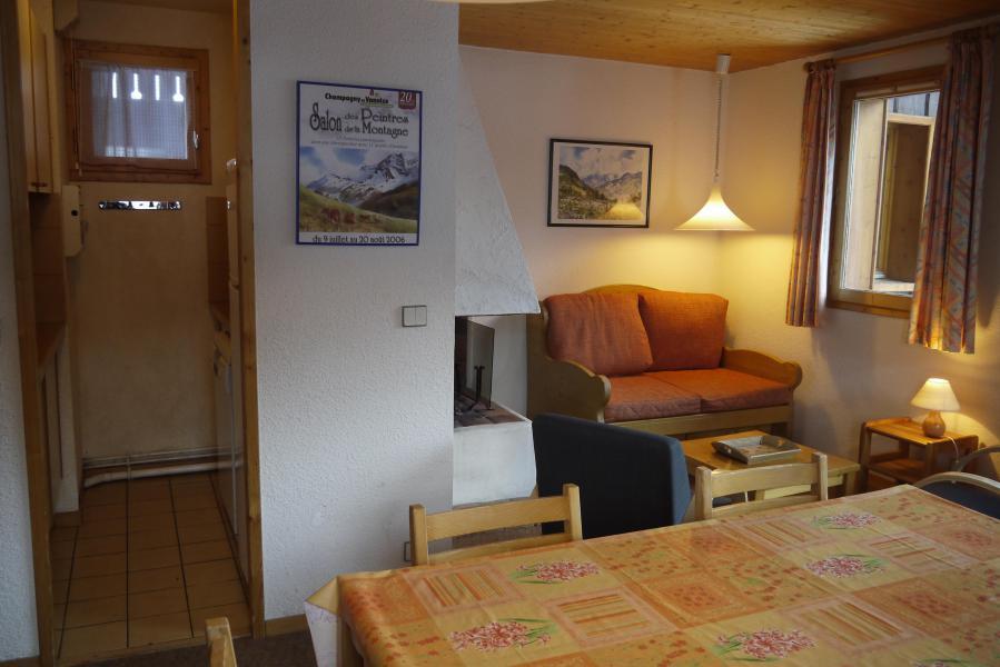 Location au ski Appartement 4 pièces 8 personnes (005) - Résidence le Florilège - Méribel-Mottaret - Banquette