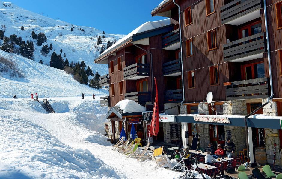 Location au ski Résidence le Hameau du Mottaret - Méribel-Mottaret - Extérieur hiver