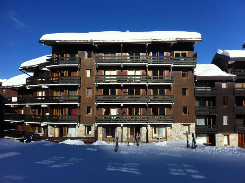 Location au ski Studio mezzanine 4 personnes (F07) - Résidence le Lac Blanc - Méribel-Mottaret - Extérieur hiver