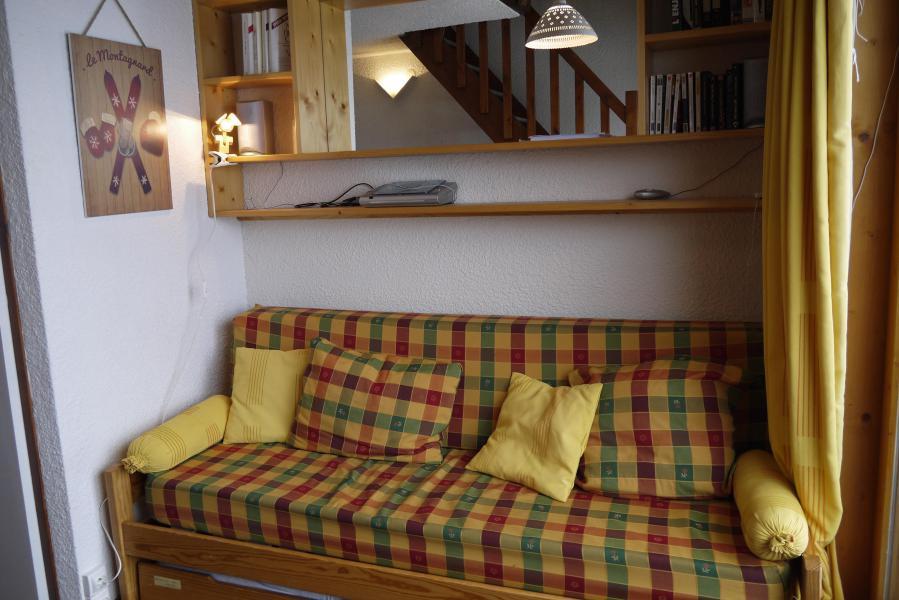Location au ski Studio mezzanine 4 personnes (F07) - Résidence le Lac Blanc - Méribel-Mottaret - Canapé-lit