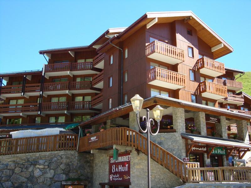 Location au ski Résidence le Plan du Lac - Méribel-Mottaret