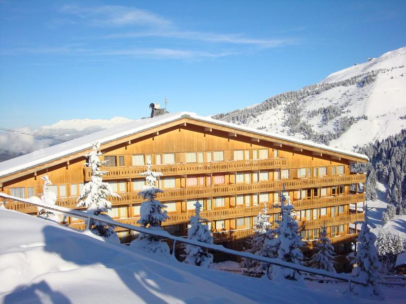 Vacances en montagne Appartement 2 pièces 5 personnes (810) - Résidence le Plein Soleil - Méribel-Mottaret - Extérieur hiver