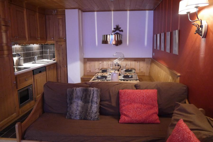 Ski verhuur Appartement 2 kamers 5 personen (810) - Résidence le Plein Soleil - Méribel-Mottaret - Appartementen