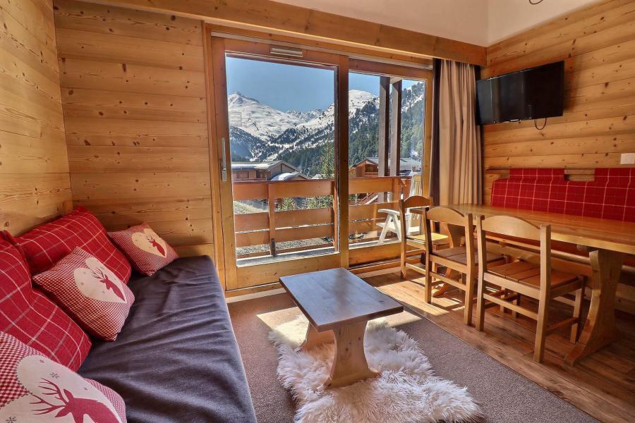 Ski verhuur Appartement duplex 2 kabine kamers 6 personen (614) - Résidence le Pralin - Méribel-Mottaret