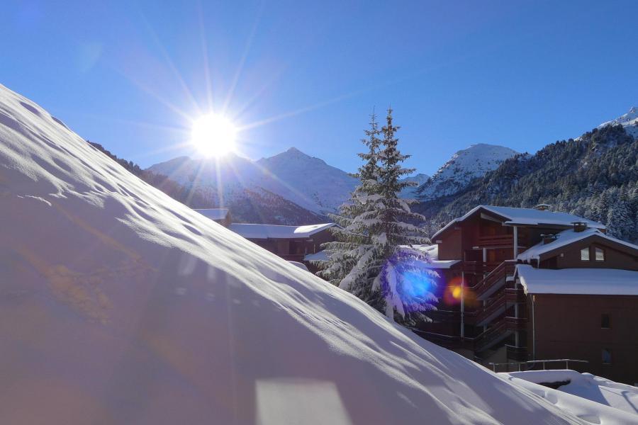 Location au ski Appartement 2 pièces 5 personnes (413) - Résidence le Pralin - Méribel-Mottaret - Extérieur hiver