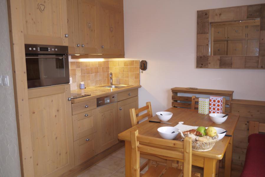 Location au ski Studio 4 personnes (035) - Résidence le Roc de Tougne - Méribel-Mottaret - Appartement