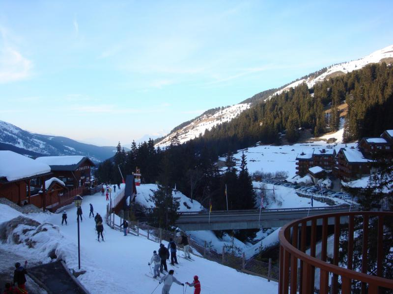 Ski verhuur Résidence le Ruitor - Méribel-Mottaret - Buiten winter