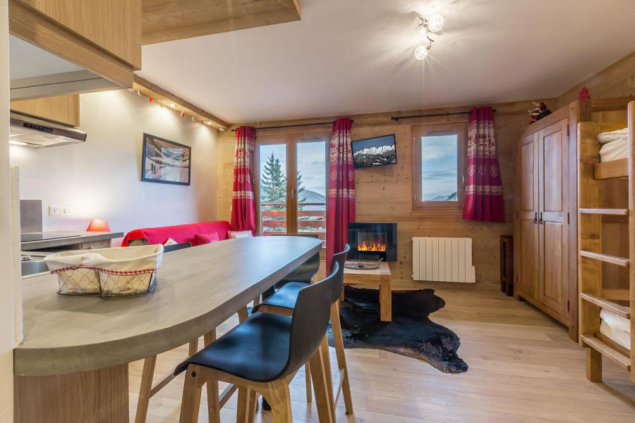 Ski verhuur Studio 4 personen (113) - Résidence le Ruitor - Méribel-Mottaret