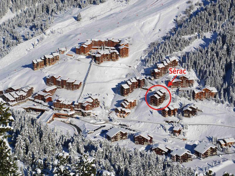 Location au ski Residence Le Serac - Méribel-Mottaret - Extérieur hiver