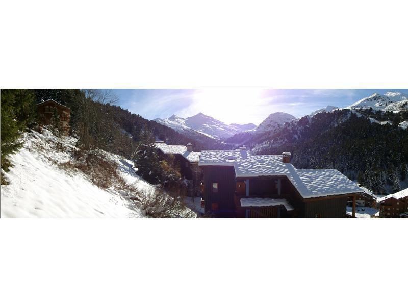 Location au ski Appartement 2 pièces cabine 6 personnes (05) - Residence Le Serac - Méribel-Mottaret - Extérieur hiver