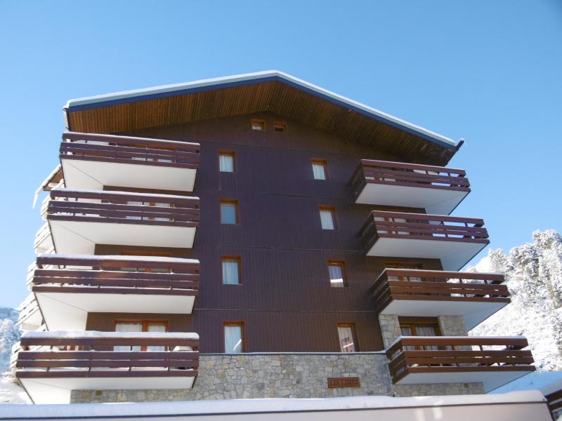 Location au ski Résidence les Cimes I - Méribel-Mottaret - Extérieur hiver