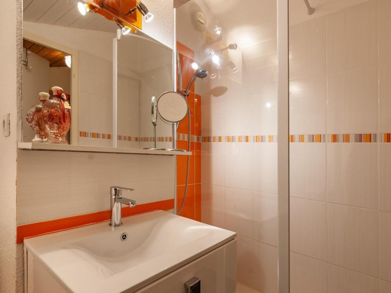Ski verhuur Appartement 4 kamers 6 personen (F07) - Résidence les Cimes I - Méribel-Mottaret - Wastafel