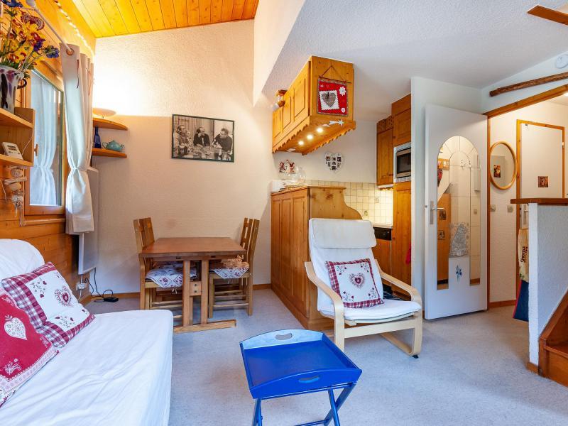 Ski verhuur Appartement 4 kamers 6 personen (F07) - Résidence les Cimes I - Méribel-Mottaret - Zitbank