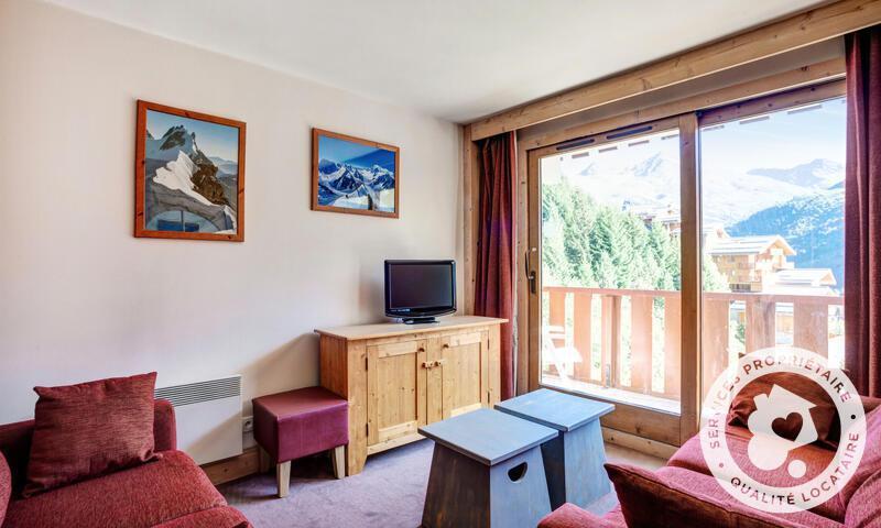 Vacances en montagne Appartement 3 pièces 6 personnes (46m²) - Résidence les Crêts - Maeva Home - Méribel-Mottaret - Séjour