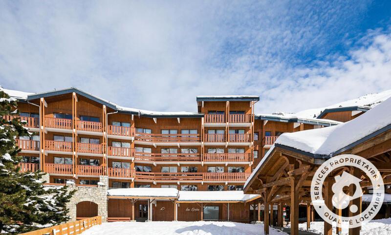 Vacances en montagne Résidence les Crêts - Maeva Home - Méribel-Mottaret - Extérieur hiver