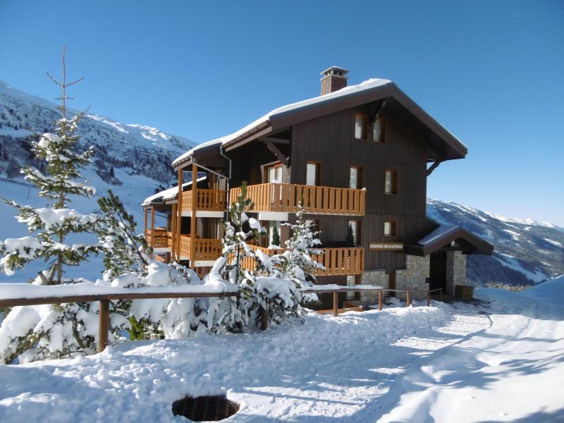 Vacances en montagne Résidence les Plattières - Méribel-Mottaret - Extérieur hiver