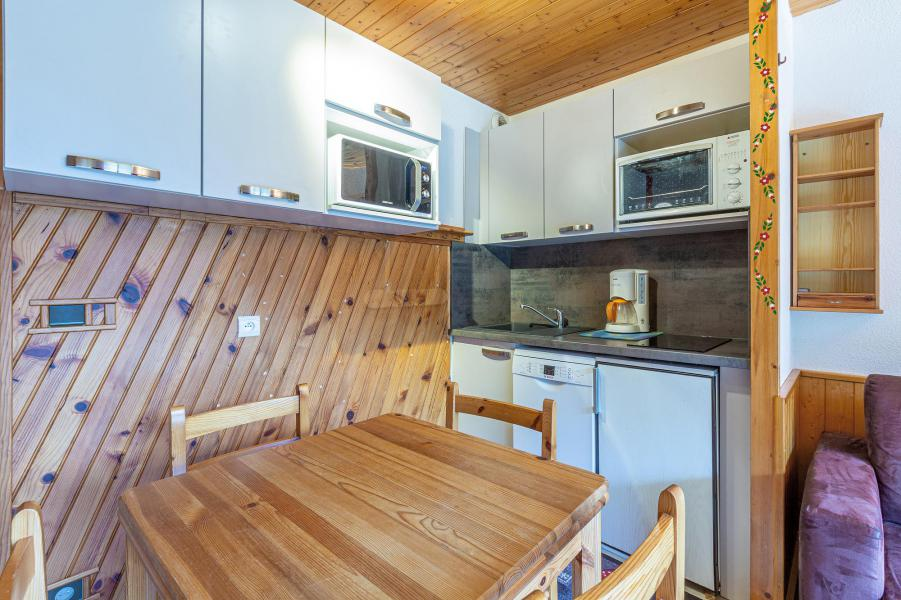 Location au ski Appartement 2 pièces 4 personnes (004) - Résidence les Plattières - Méribel-Mottaret - Appartement