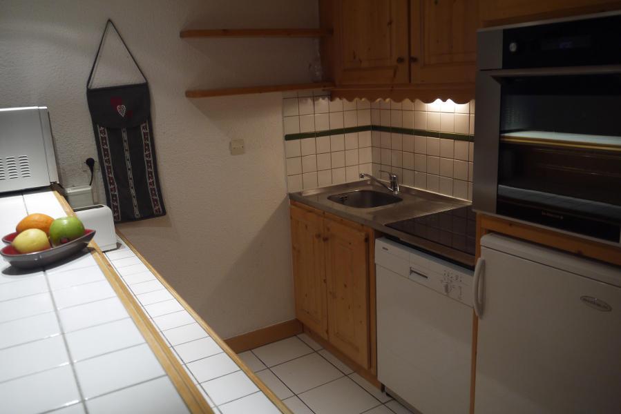 Ski verhuur Appartement 2 kamers 5 personen (034) - Résidence les Provères - Méribel-Mottaret - Keukenblok