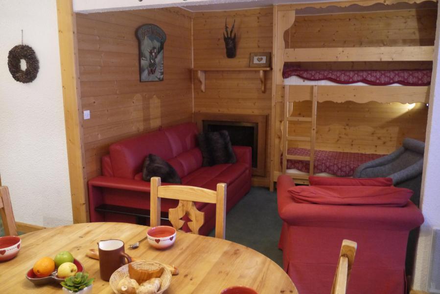 Ski verhuur Appartement 2 kamers 5 personen (034) - Résidence les Provères - Méribel-Mottaret - Tafel