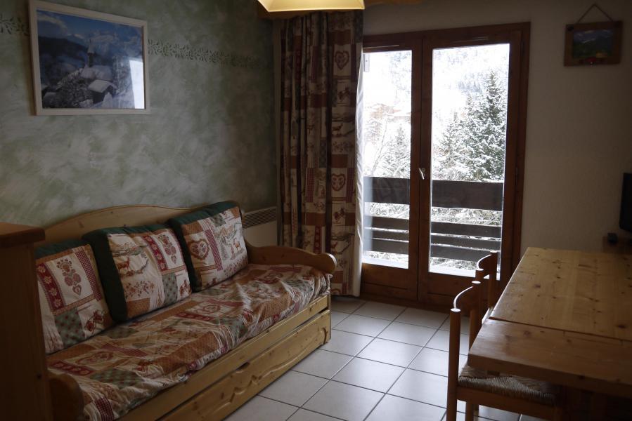 Location au ski Appartement 2 pièces 5 personnes (015) - Résidence les Provères - Méribel-Mottaret - Séjour