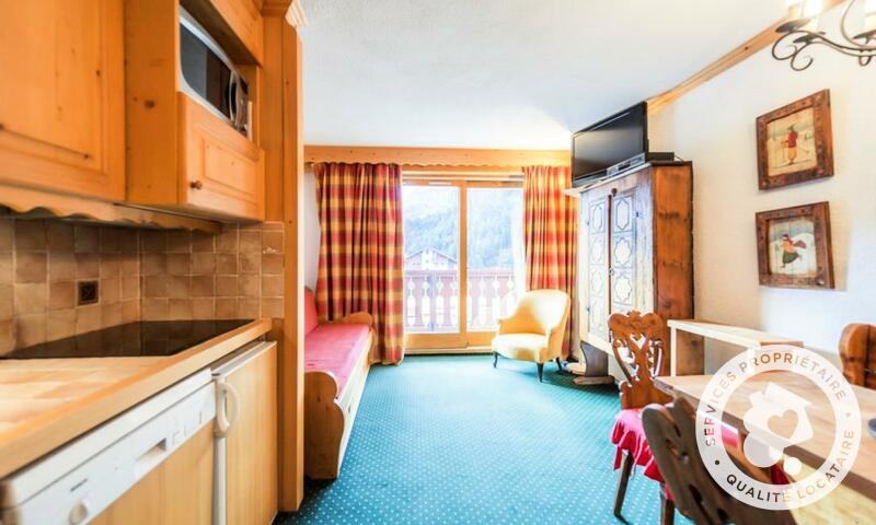 Vacances en montagne Appartement 2 pièces 4 personnes (Sélection 28m²-2) - Résidence les Sentiers du Tueda - Maeva Home - Méribel-Mottaret - Séjour