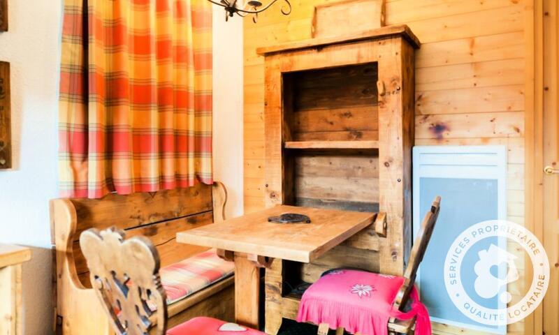 Vacances en montagne Appartement 2 pièces 4 personnes (Sélection 28m²-2) - Résidence les Sentiers du Tueda - Maeva Home - Méribel-Mottaret - Extérieur hiver