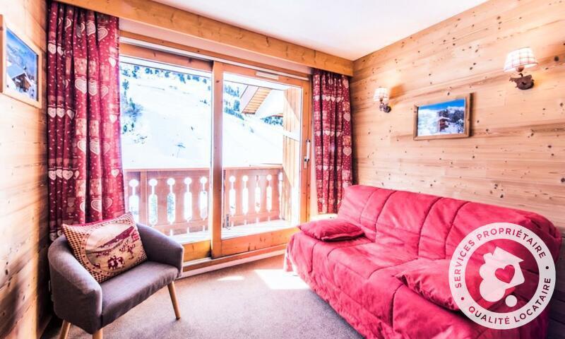 Vacances en montagne Appartement 2 pièces 4 personnes (Confort 28m²-11) - Résidence les Sentiers du Tueda - Maeva Home - Méribel-Mottaret - Extérieur hiver