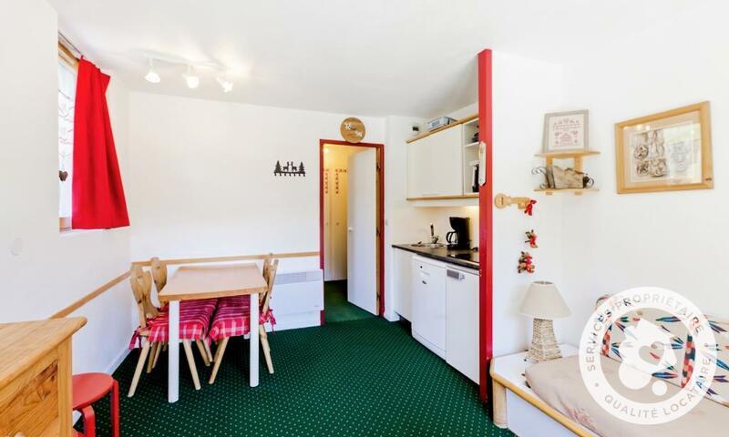 Vacances en montagne Appartement 2 pièces 4 personnes (Confort 28m²-1) - Résidence les Sentiers du Tueda - Maeva Home - Méribel-Mottaret - Extérieur hiver