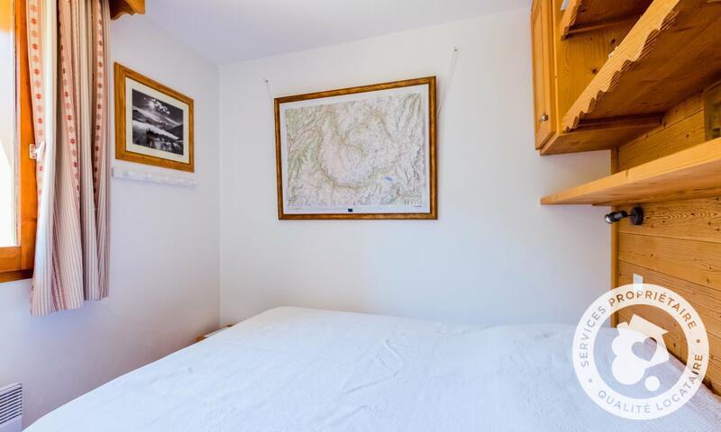 Vacances en montagne Appartement 2 pièces 6 personnes (Prestige 30m²-8) - Résidence les Sentiers du Tueda - Maeva Home - Méribel-Mottaret - Extérieur hiver