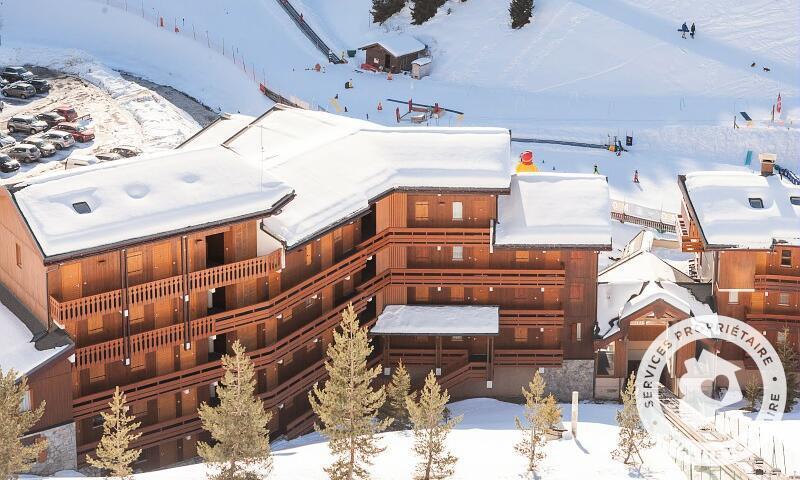 Vacances en montagne Résidence les Sentiers du Tueda - Maeva Home - Méribel-Mottaret - Extérieur hiver