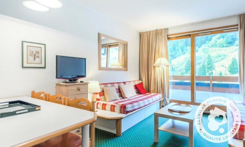 Vacances en montagne Appartement 2 pièces 6 personnes (Sélection 35m²) - Résidence les Sentiers du Tueda - Maeva Home - Méribel-Mottaret - Extérieur hiver