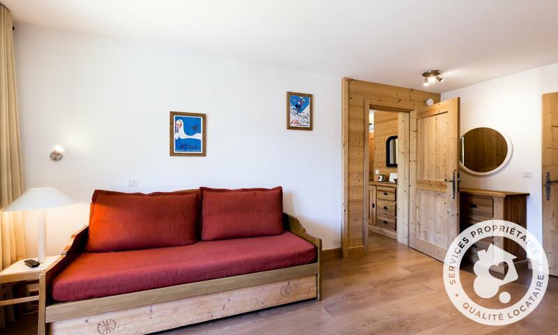 Vacances en montagne Appartement 3 pièces 8 personnes (Prestige 50m²) - Résidence les Sentiers du Tueda - Maeva Home - Méribel-Mottaret - Extérieur hiver
