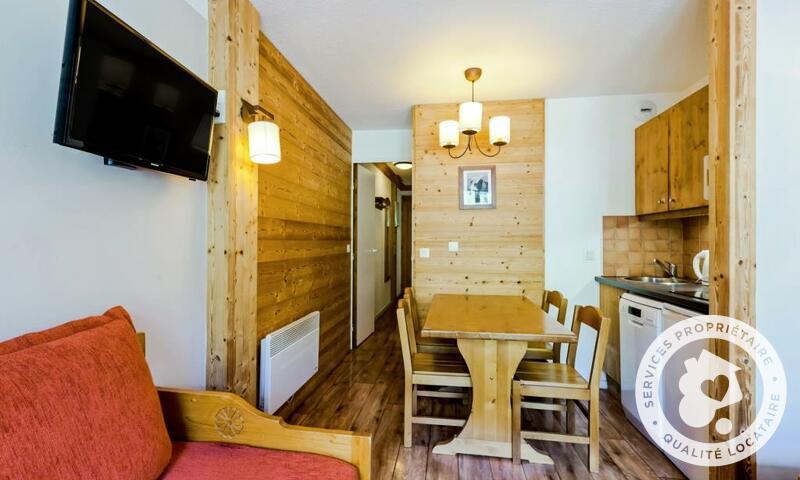Vacances en montagne Appartement 2 pièces 4 personnes (Sélection 28m²) - Résidence les Sentiers du Tueda - Maeva Home - Méribel-Mottaret - Extérieur hiver