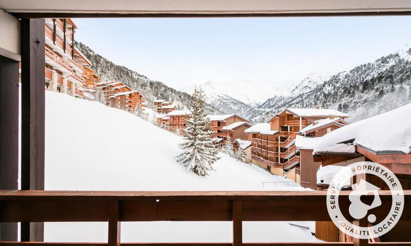 Vacances en montagne Appartement 2 pièces 4 personnes (Confort 28m²-5) - Résidence les Sentiers du Tueda - Maeva Home - Méribel-Mottaret - Extérieur hiver